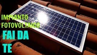 Impianto fotovoltaico con pochi euro...