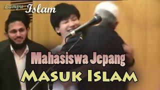 getlinkyoutube.com-Mahasiswa Jepang Memeluk Dr. Zakir Naik dan Masuk Islam