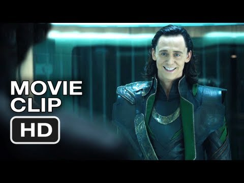 The Avengers #4 Movie CLIP - Loki - Marvel Movie (2012)