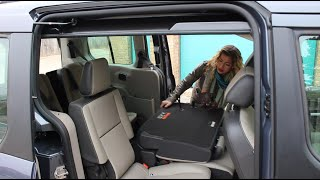 getlinkyoutube.com-Behind the Wheel With Lindsay - 2014 Ford Transit Connect Wagon