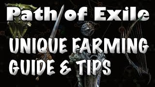 getlinkyoutube.com-Path of Exile: Unique Farming Guide - How to Get More Uniques (& Chaos Orbs)