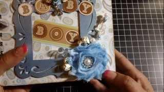 getlinkyoutube.com-Baby Boy Paper Bag Mini Album