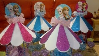 getlinkyoutube.com-Fiesta de frozen elsa y anna/ frozen party!