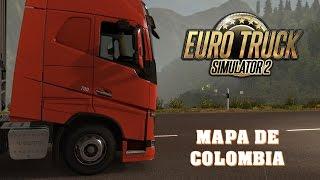 getlinkyoutube.com-EuroTruck Simulator 2, Mod Map Colombia Medellin-Pereira