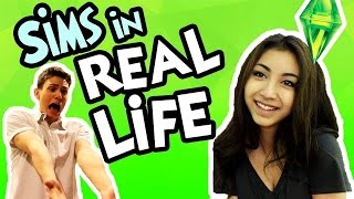 getlinkyoutube.com-The Sims in REAL LIFE!