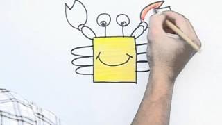 """getlinkyoutube.com-ครูก็อกสอนศิลป์ ตอน """"ปูก้ามโต"""""""