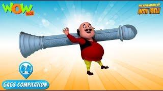Motu Patlu - Funny Gags #44 - 1 hour episodes!