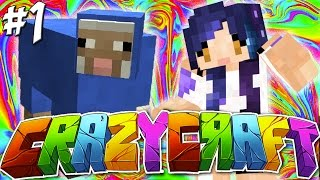 getlinkyoutube.com-Escaped from LDShadowlady!! - YouTuber Survival Crazy Craft 3.0 - Ep 1
