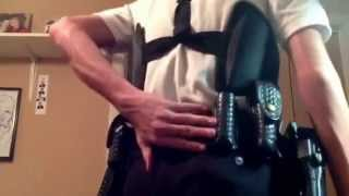 getlinkyoutube.com-Police Explorer Uniform and Duty Belt.