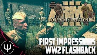 getlinkyoutube.com-ARMA 3: Iron Front 1944 Mod — First Impressions — WW2 Flashback!