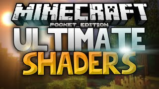 getlinkyoutube.com-THE ULTIMATE SHADERS for MCPE - Sun Rays, Reflections, and Shaders - Minecraft PE (Pocket Edition)