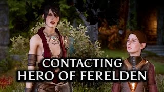 getlinkyoutube.com-Dragon Age: Inquisition - Contacting the Hero of Ferelden (Morrigan Romance)