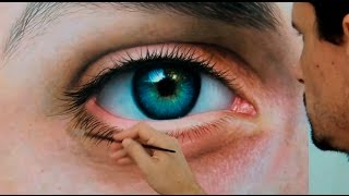"Hyper-realistic ""Fabiano Millani"" (realistic eye)"