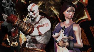 getlinkyoutube.com-Resident Evil 4 UHD - God Of War 3 mod DEMO