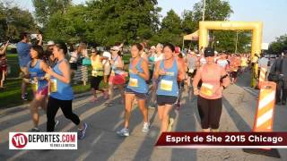 Esprit de She Chicago 2015 5K & 10K