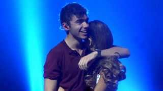 getlinkyoutube.com-The Wanted - Heart Vacancy Club Nokia 10/18/13 | Ariana on the stage