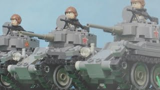 getlinkyoutube.com-1941 Lego World War Two Battle for Russia | Великая отечественная война