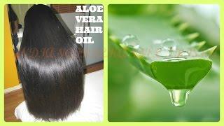 getlinkyoutube.com-How to get Long, Soft, shiny, thick hair/ Healthy Hair growth with aloe vera/ - Magical Remedy