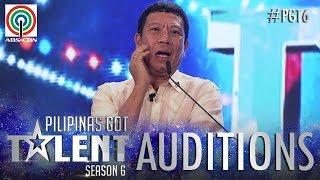 Pilipinas Got Talent 2018 Auditions: Cresencio - Estremos Jr. - Impersonation