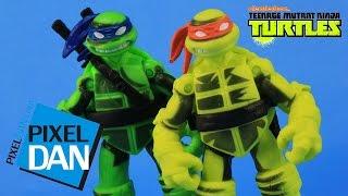 getlinkyoutube.com-Shadow Ninja Color Change Leo & Mikey Teenage Mutant Ninja Turtles Figures Video Review