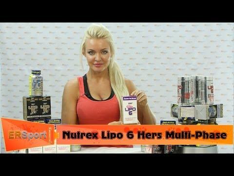 Nutrex Lipo 6 Hers Multi-Phase Спортивное питание (ERSport.ru)