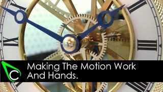 getlinkyoutube.com-How To Make A Clock In The Home Machine Shop - Part 16 - Making The Motion Work And Hands
