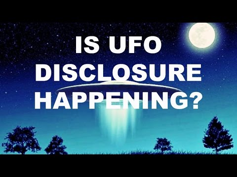 Is UFO Disclosure Happening?