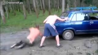 getlinkyoutube.com-Приколы с машинами