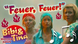 getlinkyoutube.com-Bibi & Tina - FEUER FEUER official Musikvideo in voller Länge aus Kinofilm 3 MÄDCHEN GEGEN JUNGS