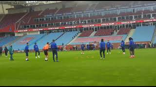 Trabzonspor-Aytemiz Alanyaspor Karşılaşması