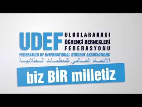 UDEF Başkanı Dr. Mehmet Ali Bolat Konuşması - 11.Uluslararası Öğrenci Buluşması Finali