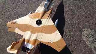 getlinkyoutube.com-I added a First Stage Compressor to my F-15 EDF Jet.