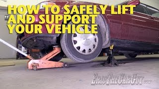 getlinkyoutube.com-How To Safely Lift and Support Your Vehicle -EricTheCarGuy