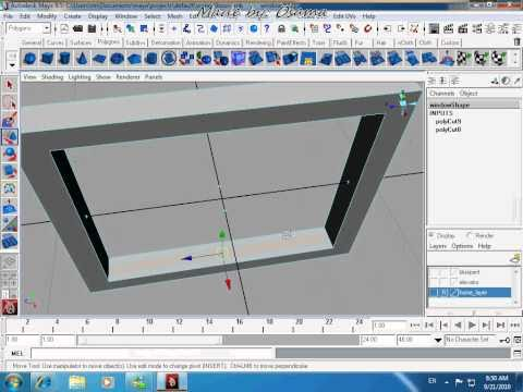 maya tutorial house modelling pt.3_1
