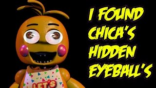 getlinkyoutube.com-I Found Chica's Hidden Eyeball's,You'll Never Guess Where They Were!!! - Five Nights At Freddy's 2\