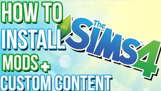 getlinkyoutube.com-The Sims 4 Tutorial: How To Install Mods and Custom Content
