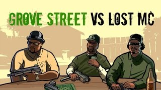 "getlinkyoutube.com-GTA 5 - ""Grove Street Vs Lost MC!"""