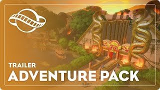 Planet Coaster - Adventure Pack Megjelenés Trailer