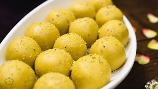 getlinkyoutube.com-Besan ke Ladoo Recipe | Traditional Indian Sweet Recipe for Festivals