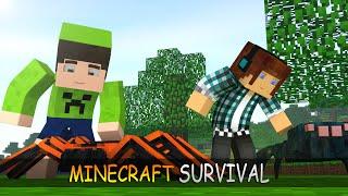getlinkyoutube.com-Minecraft Survival Ep.127 - O Ataque das Aranhas !!