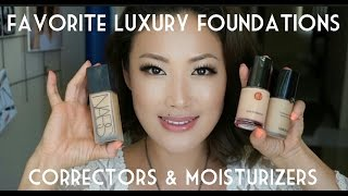 getlinkyoutube.com-Favorite Luxury Foundations, Correctors & Moisturizers