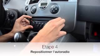 getlinkyoutube.com-Lisez la musique de votre Smartphone sur une Renault Scenic 2 de 2007 avec MP3-Renault.fr