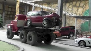 getlinkyoutube.com-RC CRASH, RC CRASH TEST, RC ACCIDENT, RC UNFALL LANDROVER DISCOVERY,RC DISASTER