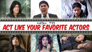 getlinkyoutube.com-How To Act Like Your Favorite Actors
