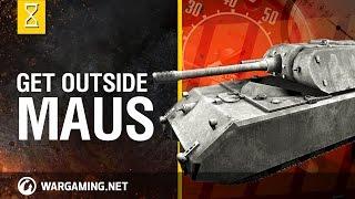 getlinkyoutube.com-World of Tanks: Outside the Chieftain's Hatch, Maus