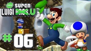 getlinkyoutube.com-New Super Luigi U - World 6 - Rock-Candy Mines 100% (2 Players)