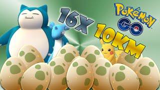 getlinkyoutube.com-POKEMON GO HUGE 16 10KM Hatching SUPER RARE