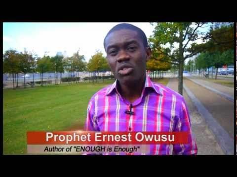 Prophet Ernest Owusu Book ENOUGH is Enough