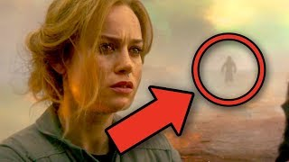 CAPTAIN MARVEL Trailer Breakdown! Easter Eggs & False Memory Theory Explained!
