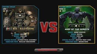 getlinkyoutube.com-Real Steel WRB Bio War (UW I - 97) VS Zeus (champion) WRB II 207 NEW